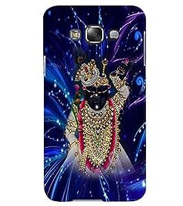 PRINTVISA Religious Shri Nath Ji Case Cover for Samsung Galaxy E7