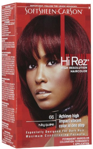 SoftSheen Carson Hi Rez Haircolor 66 Ruby Quake