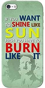 Kasemantra Shine Like Sun Case For Apple iPhone 5-5S