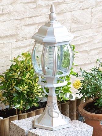 Luminaire petit lampadaire ext rieur lanterne - Lampadaire de jardin sur pied ...