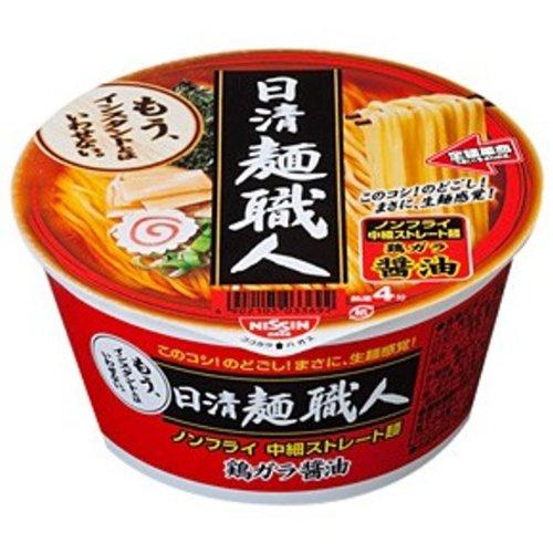 日清 麺職人 醤油 92g×12個
