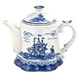 Blue Export Teapot