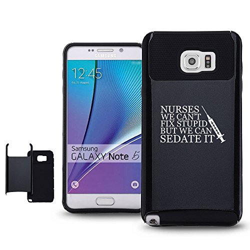Samsung-Galaxy-Note-5-Shockproof-Impact-Hard-Case-Cover-Nurses-Cant-Fix-Stupid-Sedate-It