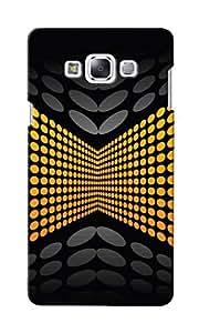 KnapCase Abstract Designer 3D Printed Case Cover For Samsung Galaxy E7