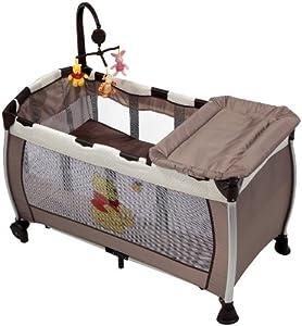 hauck 607237 reisebett starlight pooh doodle baby. Black Bedroom Furniture Sets. Home Design Ideas