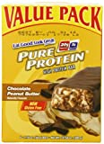 Pure Protein Chocolate Peanut Butter Value Pack Bars,  6 bars