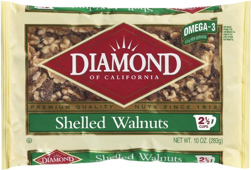Diamond Shelled Walnuts, 10-Ounce (Oven Toasted compare prices)