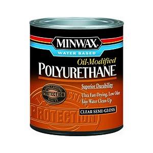Minwax 23020 Minwax Water Based Polyurethane 1 2 Pint