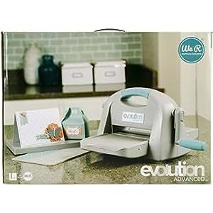 evolution advanced die cutting embossing machine