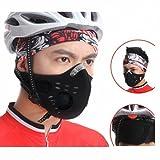 【Bellstone】自転車 アウトドアスポーツ用 フェイスマスク フリーサイズ Anti-pollution City Cycling Mask Mouth-Muffle Dust Mask Bicycle Sports Protect Road