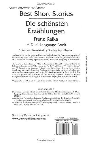 Best Short Stories: A Dual-Language Book: Die Schonstenerz Ahlungen (Dover Dual Language German)
