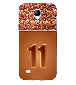 PrintDhaba Numerology Number 11 D-3644 Back Case Cover for SAMSUNG GALAXY S4 MINI (Multi-Coloured)