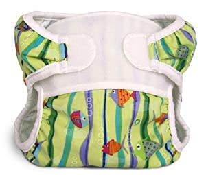 Bummis Swimmi Cloth Diapers, Fishies, Small (9-15 lbs)