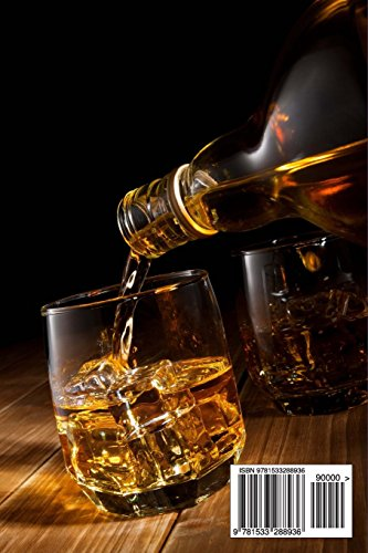 Smooth Whiskey Pour: Blank 150 page lined journal for your thoughts, ideas, and inspiration