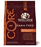 Wellness Grain-Free Dry Dog Food for Adult Dogs, CORE Original, 4-Pound Bag