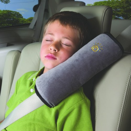 Aulyn® Car Seat Belt Cover Cushion Shoulder Harness Pads Children Cushion (Grey) front-168892