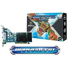 XFX PVT44AWANG GeForce 6200 256MB GDDR2 AGP 4X/8X Video Card (VGA/DVI/S-Video)