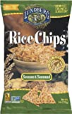 Lundberg Rice Chips Made with Organic Grains, Sesame Seaweed, 6-Ounce Bags (Pack of 12)