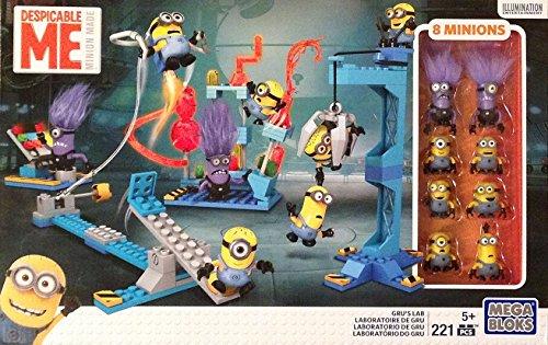 Mega Bloks Despicable Me Gru's Lab with 8 minions (Minion Gru)