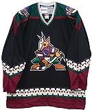 Phoenix Coyotes 1999-2003 Road Black Vintage CCM Jersey (Large)