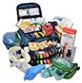 Tactical First Aid Kit: Lightning X Extra Large Medic First Responder EMT Trauma Bag Stocked First Aid Deluxe Fill Kit C by Lightning X Products