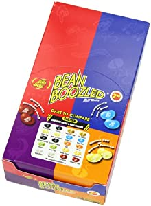 Jelly Belly Bean Boozled Jelly Beans Halloween Candy- 24 Pack, 3rd Edition