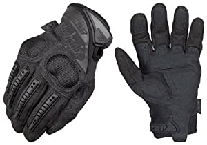 Mechanix Wear MP3-05-009 Mpact3 Knuckle Protection Glove, Black, Medium