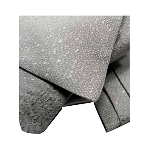 Avantgarde - CASHE COL UOMO TINTA UNITA ASCOT SETA PRODOTTO ITALIANO, colore grigio medio