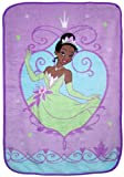 Disney Princess and the Frog Ultra Soft Blanket, Purple