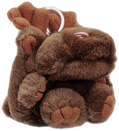 "Purr-Fection Mini Molly Cushy Critter Moose 3"" Plush - 1"