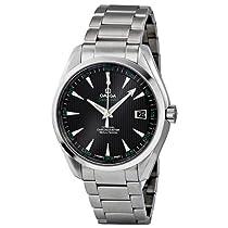 Omega Aqua Terra Chronometer Black Dial Stainless Steel Mens Watch 231.10.42.21.01.001