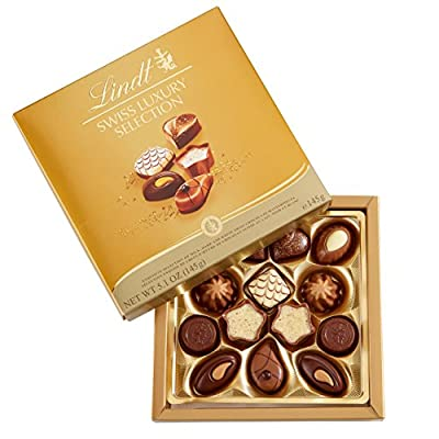 Lindt Chocolate Swiss Luxury Selection 5.1oz from Lindt Chocolate