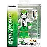 パナソニック 充電式EVOLTA 急速充電器セット 単3形充電池 2本付き K-KJQ20M20W
