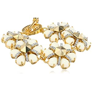 Juicy Couture Daisy Link Bracelet, 7.5