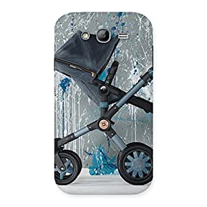 Impressive Denim Baby Print Back Case Cover for Galaxy Grand