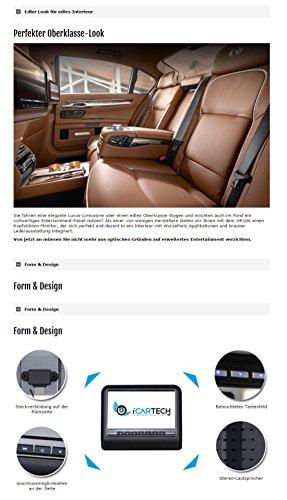 2-x-101-Kopfsttzenmonitor-mit-DVD-Player-von-ICARTECH-Beige-AV-Eingang-USB-Anschluss-SD-Kartenslot-FM-Transmitter-Dualzone-fhig-Lederoptik-Koppelbar-mit-Partnermonitor-Integrierte-Lautsprecher-Kabello