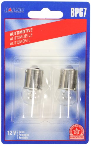 Wagner Lighting BP67 Miniature Bulb - Card of 2 (Coil For F2 50 Ford compare prices)