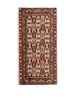 CarpeTrade Alfombra Persian Kelat (Beige/Multicolor)