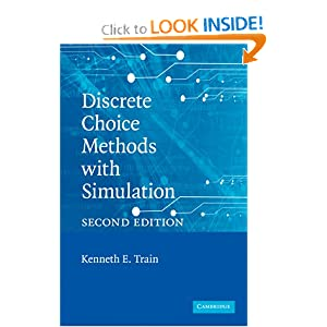 Train Discrete Choice Methods with Simulation Kenneth E. Train