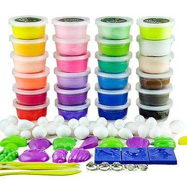 JW dodolu 24 Farben Knete 3d bunten Ton mit ungiftigen Modi online kaufen