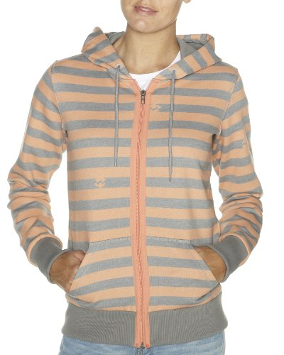Billabong Damen Kapuzen Jacke Love'n Stripe, cherbet orange, XL, L3ZH01BIW2
