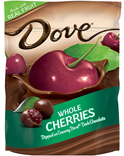 Dove Dark Chocolate with Whole Cherries, 6 Oz Bags(pack of 2)