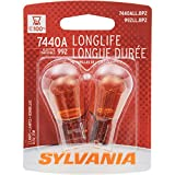 SYLVANIA 7440A Long Life Miniature Bulb, (Contains 2 Bulbs)