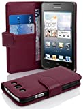 Cadorabo - Book Style Hülle für Huawei G525 / G520 - Case