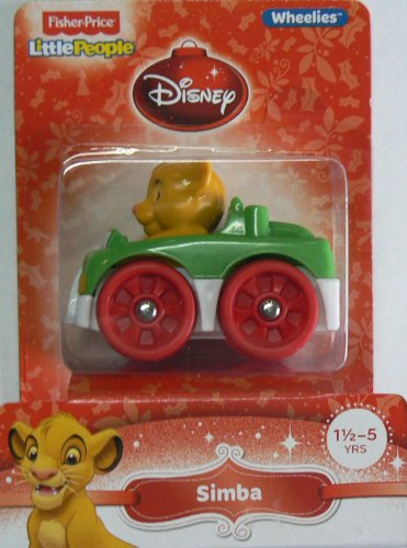 Fisher-Price Little People Wheelies Disney Simba - 1