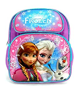 "Disney - Frozen Toddler 12"" Backpack - Snowflakes by Grupo Ruz"