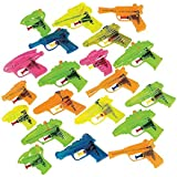 Fun Express 25 Piece Plastic Squirt Gun Assortment