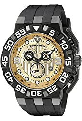 Swiss Legend Men's 10125-BB-09-DD Challenger Analog Display Swiss Quartz Black Watch
