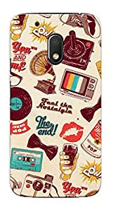 Kaira High Quality Printed Designer Back Case Cover For Motorola Moto G4 Play(313)