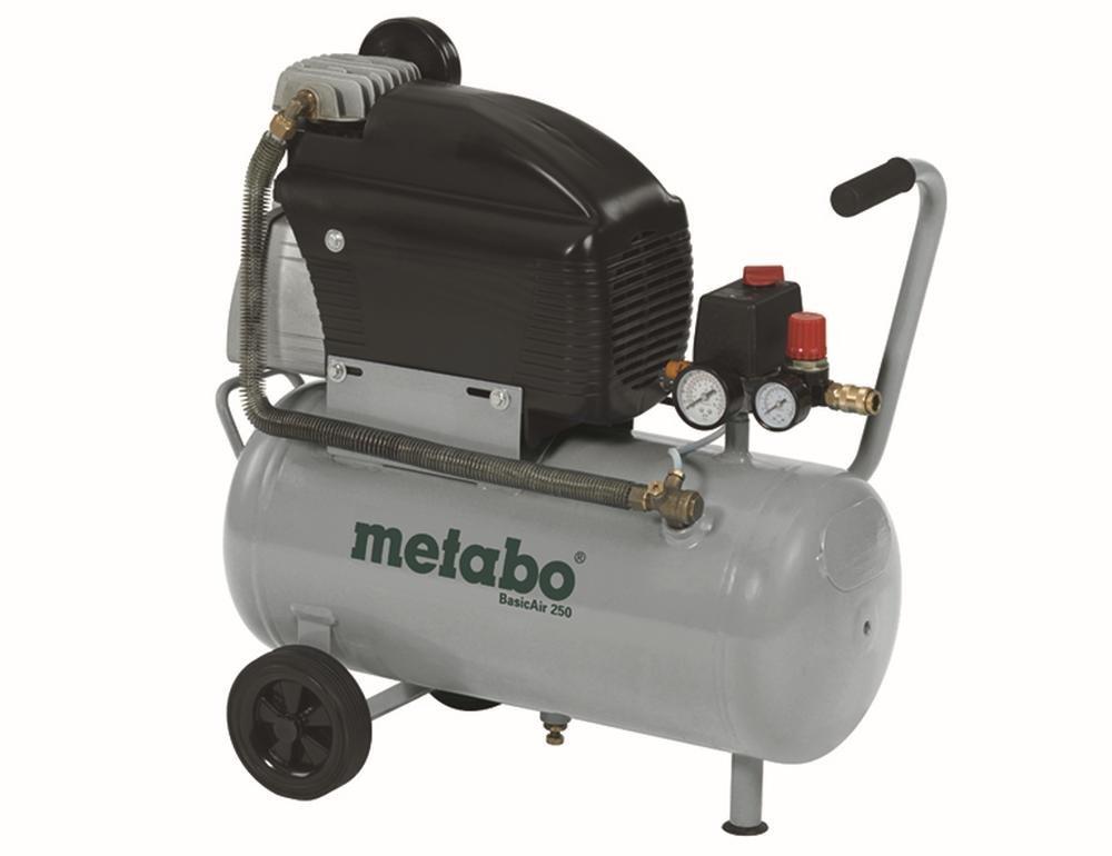 Metabo 023 012 5000 Kompressor Basic AIR 250  BaumarktÜberprüfung und Beschreibung